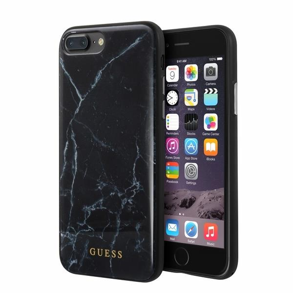 selezione premium 98e0b 2e15a Guess GUHCI8LHYMABK iPhone 7/8 Plus czarny/black Marble