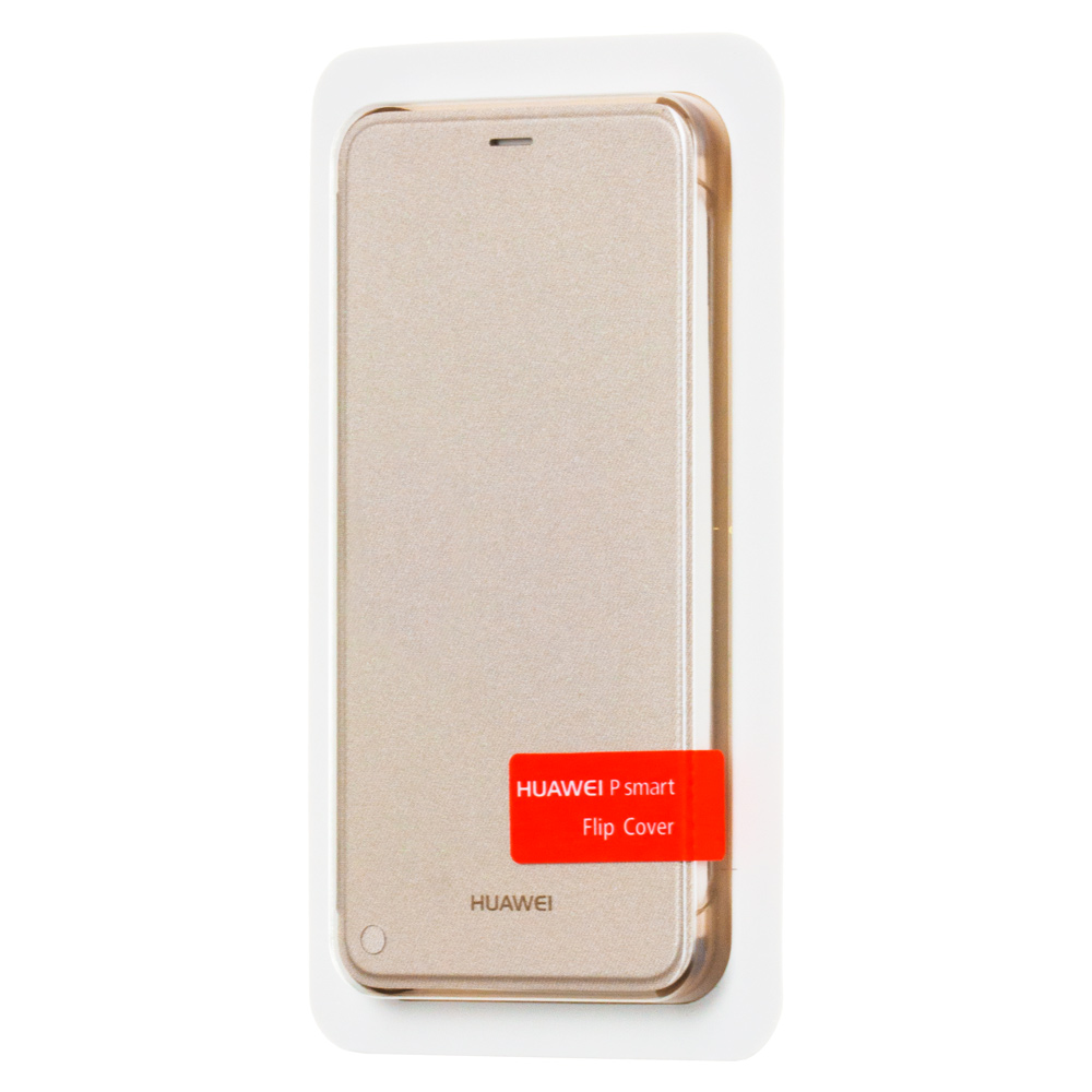 info for a22fc 9bb0f Huawei Flip Cover Bookcase Type Case for Huawei P Smart gold (51992275)