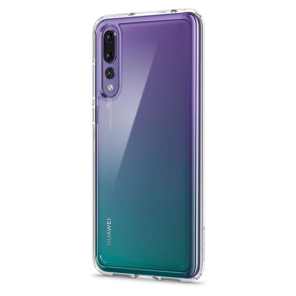 finest selection d409e aa28b Spigen Ultra Hybrid case cover Huawei P20 Pro transparent