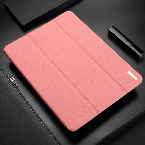DUX DUCIS Domo Tablet Cover with Multi-angle Stand and Smart Sleep Function for Samsung Galaxy Tab A 10.1 2019 T515 T510 pink