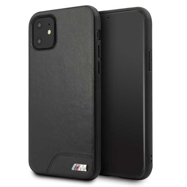 Etui hardcase BMW BMHCN61MHOLBK iPhone 11 czarny/black M Collection