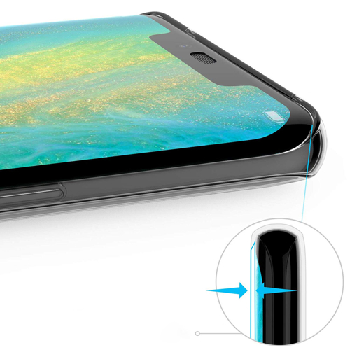 Huawei Flexible Clear Case Soft Flexible Gel TPU Cover for Huawei Mate 20 Pro transparent (51992764)