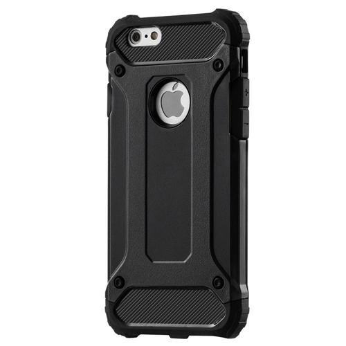 Hybrid Armor pancerne hybrydowe etui pokrowiec iPhone 6S 6 czarny