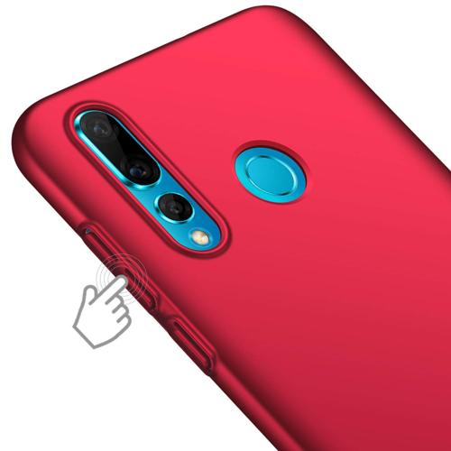 MSVII Simple ultracienkie etui pokrowiec Huawei P Smart Plus czerwony