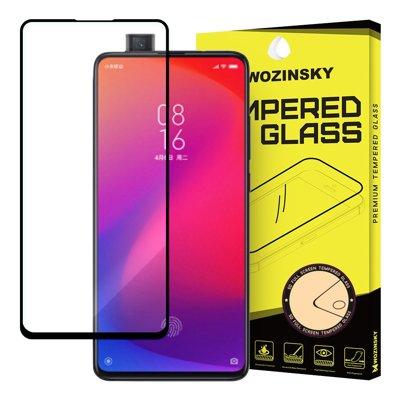 Wozinsky super wytrzymałe szkło hartowane Full Glue na cały ekran z ramką Case Friendly Xiaomi Mi 9T Pro / Mi 9T czarny
